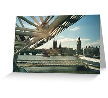 Simply A London Landscape Greeting Card