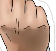 Rude/Middle Finger Sticker