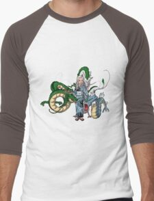 Mother of Dragons Crossover Men's Baseball ¾ T-Shirt