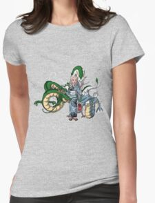 Mother of Dragons Crossover Womens Fitted T-Shirt
