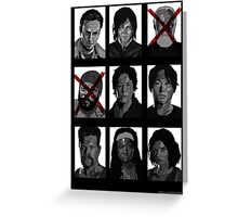 TWD Survivors Greeting Card