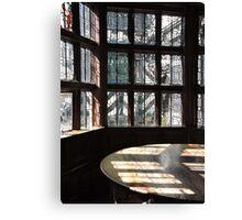 Window Lit Canvas Print