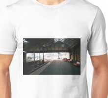 Scarborough Railway Platform 1980s Unisex T-Shirt