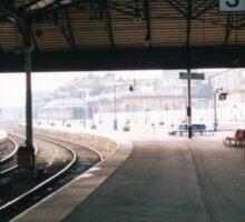 Scarborough Railway Platform 1980s Sticker