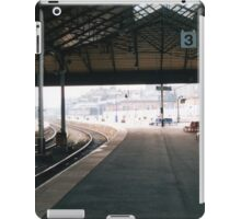 Scarborough Railway Platform 1980s iPad Case/Skin