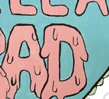 'Hella Rad' Sticker