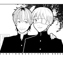 Happy AU for Kaneki and Hide by The Quiet Storm
