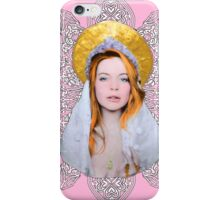 Saint Lindsay Icon Saturated 50 PINK Double Lace iPhone Case/Skin