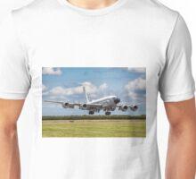 Boeing Airseeker R.1 ZZ664 crosswind landing Unisex T-Shirt