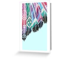 Fabulous Feathers Greeting Card