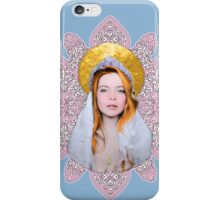 Saint Lindsay Icon Saturated 50 PINK Double Lace 2 iPhone Case/Skin