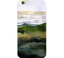Ocean View with Natural Arch, Carmel, CA iPhone Case/Skin