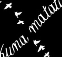 Hakuna Matata Infinity Sign Sticker