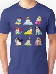 Pug Princesses Version 2 T-Shirt