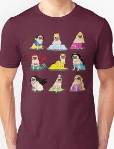 Pug Princesses Version 2 Unisex T-Shirt