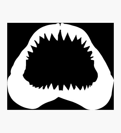 Shark Jawbone Photographic Print