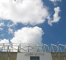 Blue Sky over Leeds United FC by stevefreestone