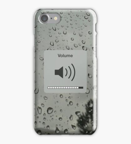 Drown out the noise iPhone Case/Skin