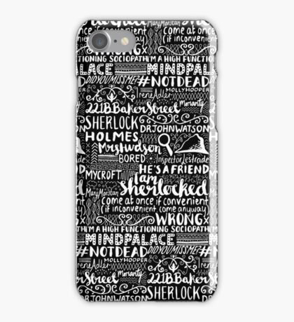 SHERLOCK 2 iPhone Case/Skin