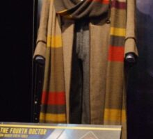 Doctor Who The Fourth Doctor Costume Sticker