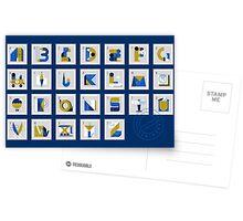 Post Alphabet Postcards