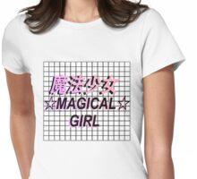 Magic Girl Vaporwave Aesthetics Womens Fitted T-Shirt