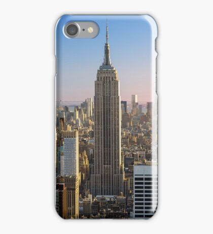 NYC empire state building iPhone Case/Skin