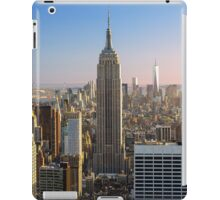 NYC empire state building iPad Case/Skin
