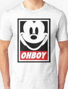 Oh Boy Mickey T-Shirt
