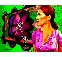 Groovy Graffiti Photographic Print