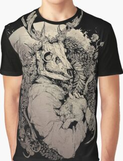 The Dragon's Daughter- Sepia  Graphic T-Shirt