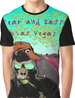 Fear and Sassy In Las Vegas Graphic T-Shirt