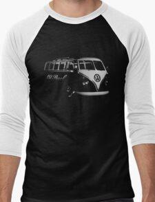 vw bus, Old Skool Men's Baseball ¾ T-Shirt