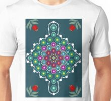 Dot painting meets mandala 1 Unisex T-Shirt