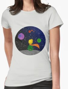 The child and the sky. Womens Fitted T-Shirt