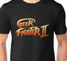 Street Fighter II - Geek Fighter II Unisex T-Shirt