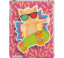 Skateboard cat! iPad Case/Skin