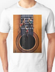 Surreal Guitar Climbers Unisex T-Shirt