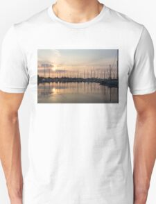 Crepuscular Rays - Golden Sunbeams Sunset Unisex T-Shirt