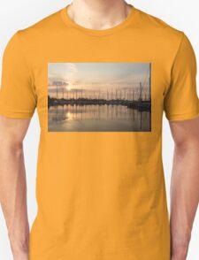 Crepuscular Rays - Golden Sunbeams Sunset T-Shirt