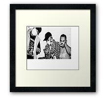 Keith ape Framed Print