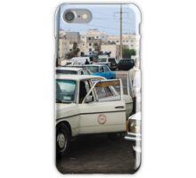 A white cab iPhone Case/Skin
