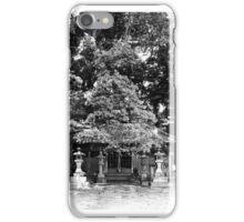 Shrine, Izu Peninsula iPhone Case/Skin