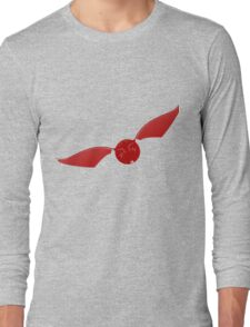 Snitch maroon Long Sleeve T-Shirt