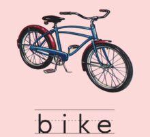 Vintage Bicycle One Piece - Long Sleeve