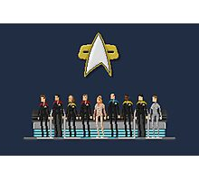 Star Trek: Voyager - Pixelart crew Photographic Print