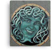 Medusa-self portrait Canvas Print