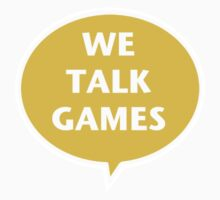 We Talk Games Official Logo (punched) by BionicWiggly