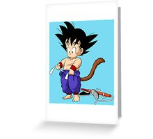 dragon ball Greeting Card