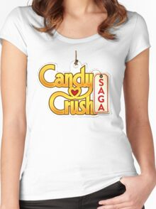Candy Saga Women's Fitted Scoop T-Shirt
